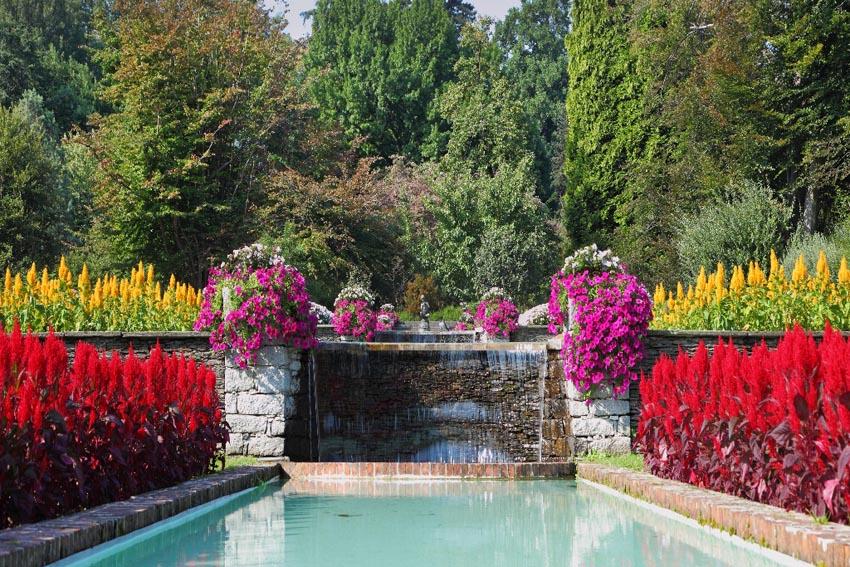 Garden of Latium Tour Italy